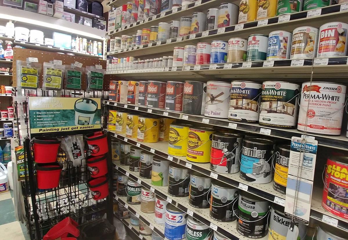 hardware stores